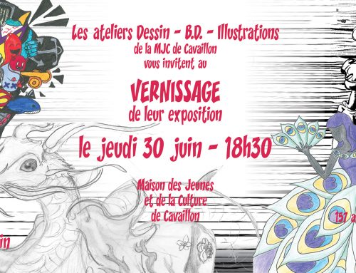 Exposition Illustrations – Dessin -BD